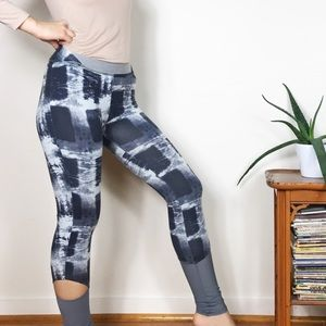 FP Movement Hendrix Leggings Tie Dye Cutout Mesh